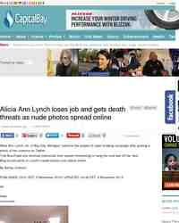 Alicia Ann Lynch loses job and gets death: CapitalBay